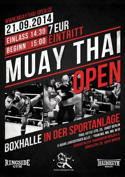 MUAY THAI OPEN 2015